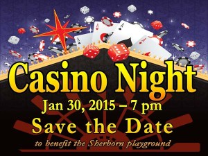 Save the date Casino Sign sm
